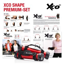 XCO® ALU Premium set incl. 2 trainingsprogramma's op dvd (Duits)