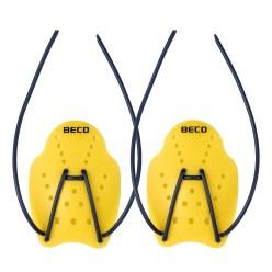 Beco® Handpaddels Maat S, 18x13 cm, geel