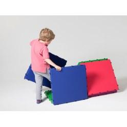 Tukluk® mattenbouwset Grote driehoek, L: 100 cm, Home versie