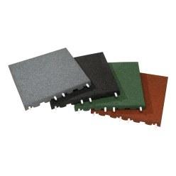 Euroflex® valbeschermingstegels Rood, 40 mm