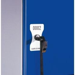 Nummerplaat Safe-O-Mat muntslot