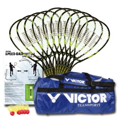 "Victor® Crossminton Schoolsport-Set ""100"""