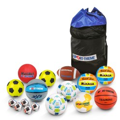 "Sport-Thieme Schoolbal-Set ""Actieve Pauze"""