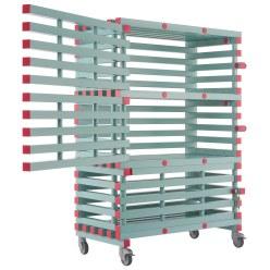REA® Kunststof  materiaalwagen