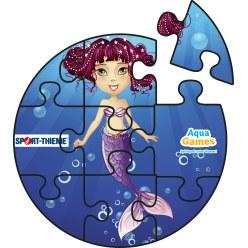 Aqua Game Puzzel Koraal, Rond