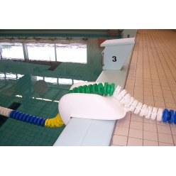 Randbescherming voor zwemlijnen