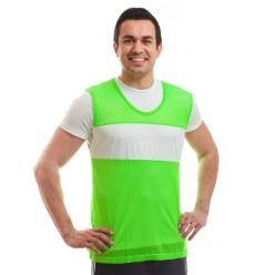 Sport-Thieme® herkenningsvest met sponsorveld Groen