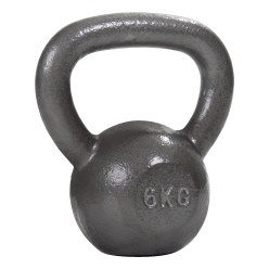 Sport-Thieme Kettlebell Hamerslag, geschilderd, grijs