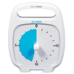 "Time Timer® ""Plus"" 120 Minuten, Wit"