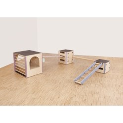 "Cube Sports® Bewegingslandschap U3 ""Set 1"""
