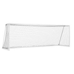 """Sport-Thieme Grootveld voetbaldoel """"Compact Plus"""", wit emaille, transporteerbaar"""