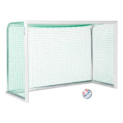 "Sport-Thieme® Alu-Mini-Trainingsdoel ""Professional Kompakt"", witte poedercoating"
