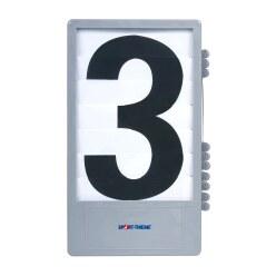 Trenas Cijfercassette voor manuele scoreborden