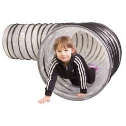 """Spiraal-kruiptunnel """"Flex"""" Regenboog, 4 m"""
