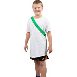 Teamband met klittenbandsluiting Rood, Kinderen, L: ca. 50 (100) cm
