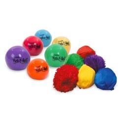 Knijpballen met hoesje
