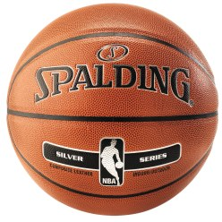 "Spalding® Basketball ""NBA Silver"""
