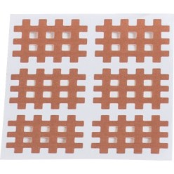 "KS-Medical KS Gittertape ""Cross-Patches"" 120 Pleister 36x28 mm, Beige"