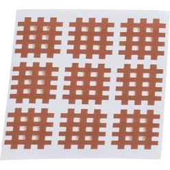 "KS-Medical KS Gittertape ""Cross-Patches"" 180 Pleister 27x21 mm, Beige"