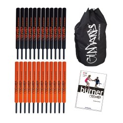 "Burnermotion® Gladiators Bats ""Schoolset"""