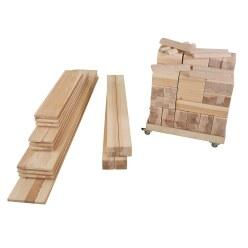 """Møte Bewegingsbouwplaats Fritid Accessoires """"Bouwstenen en planken"""""""