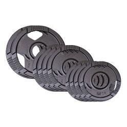Sport-Thieme® gitijzeren Wedstrijdgewichtsschijvenset, 50 kg
