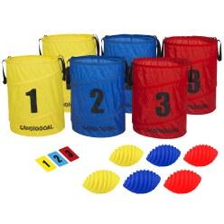 Spordas Cardiogoal Pop-up Basket Starter Set