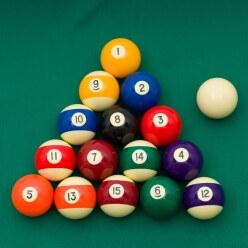 "Sportime® Biljartballen ""Pool Sport"""