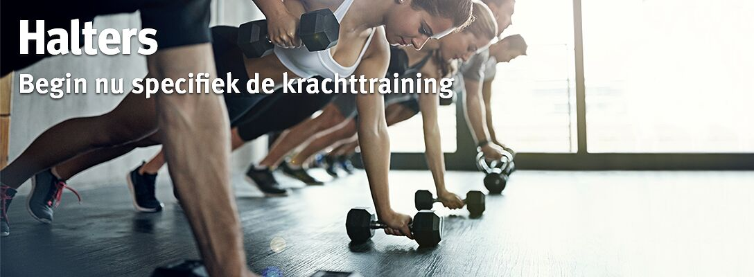 Halters: Begin nu de krachttraining