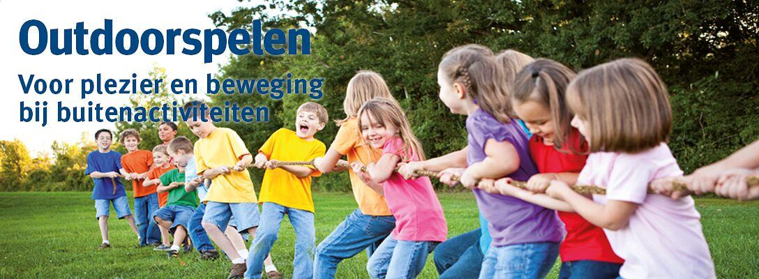 Outdoorspelen - voor plezier en beweging