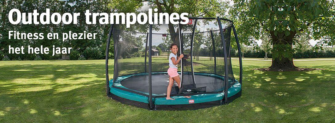 Outdoor trampolines: fitness en plezier