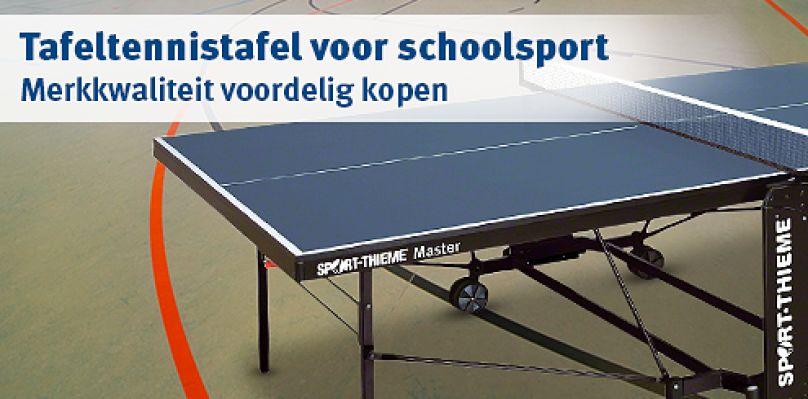 Tafeltennistafel voor schoolsport