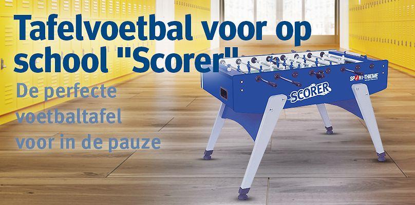 """Tafelvoetbal voor op school """"Scorer"""""""