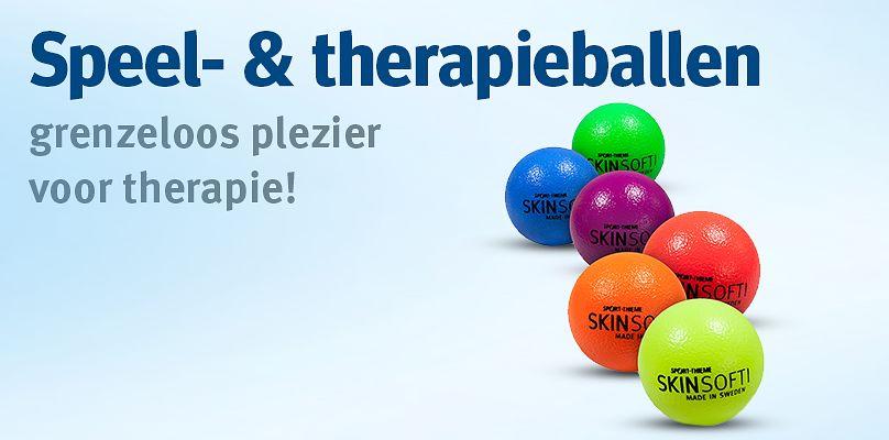 Speel- & therapieballen: grenzeloos plezier voor therapie!